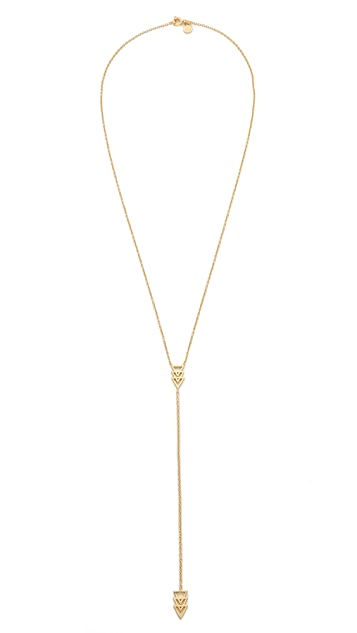 Gorjana Nira Lariat Necklace