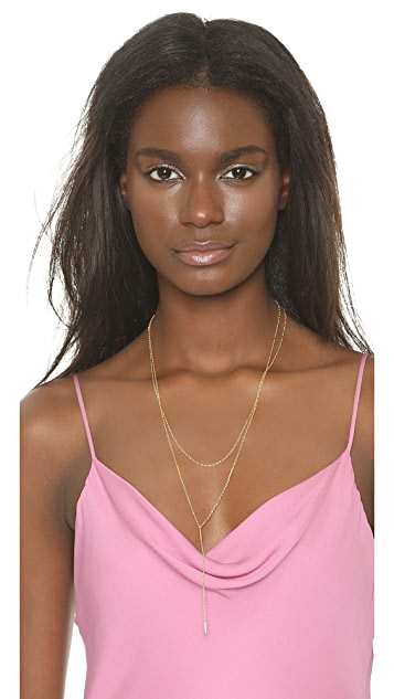 Gorjana Nina Layered Lariat Necklace