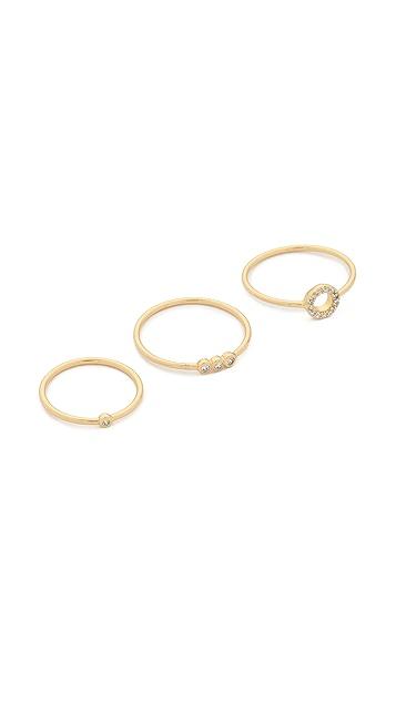 Gorjana Lonny Ring & Midi Set