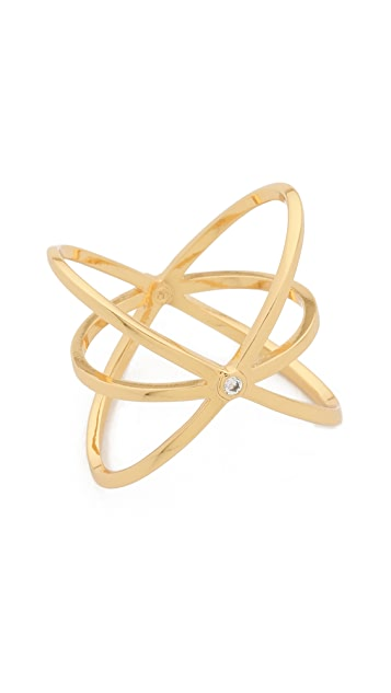 Gorjana Lonny Crisscross Ring