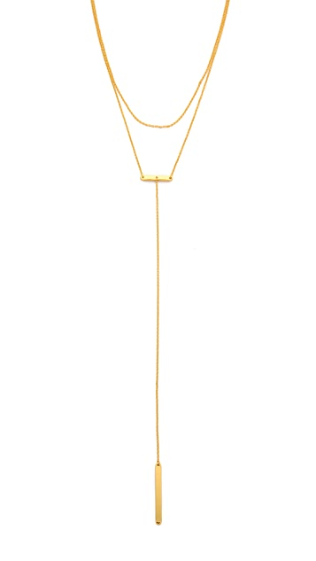 Gorjana Asher Lariat in Metallic Gold 062Qh