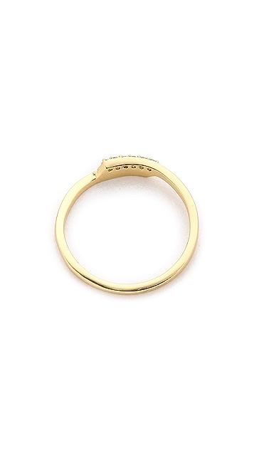 Gorjana Petra Shimmer Midi Ring