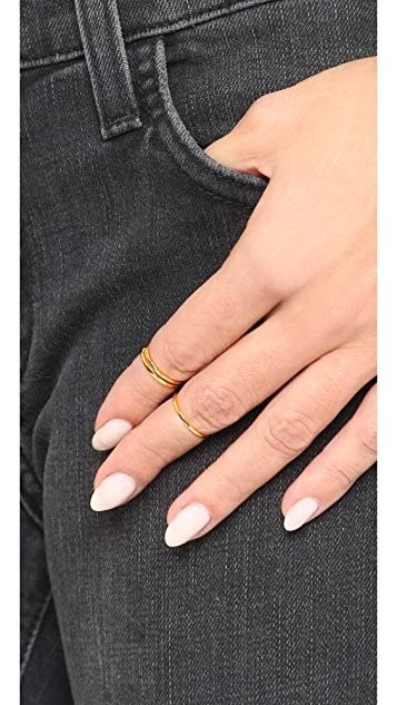 Gorjana Cameron Midi Ring Set
