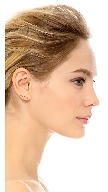 Gorjana Olympia Shimmer Ear Climbers