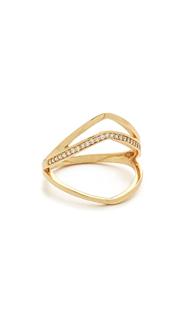 Gorjana Cress Shimmer Split Ring