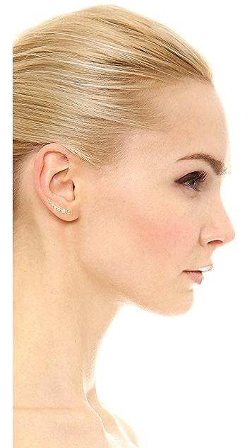 Gorjana Candice Shimmer Ear Climbers