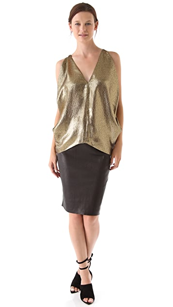 Maria Grachvogel Metallic Top