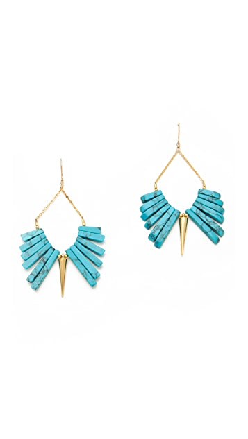 Gemma Redux Drop Spike Earrings