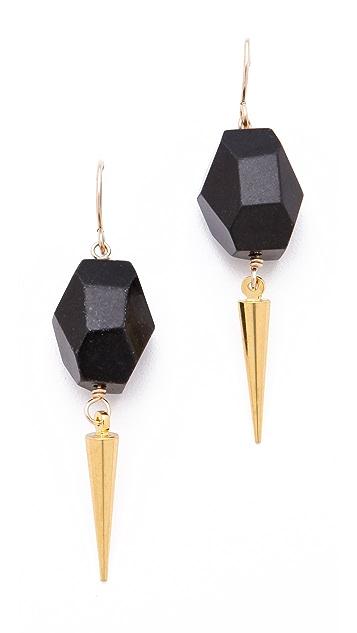 Gemma Redux Nugget Spike Earrings