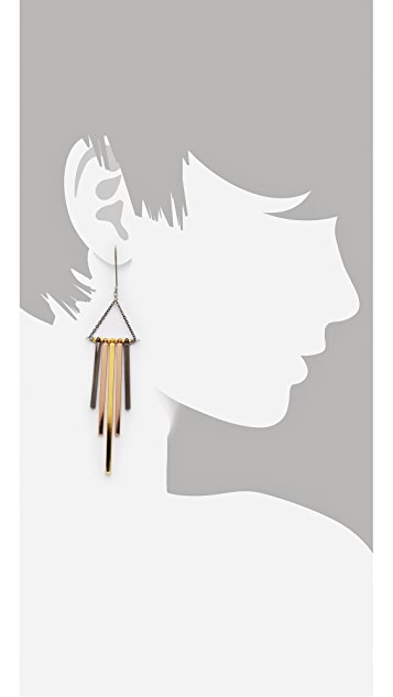 Gemma Redux Mixed Metal Drop Earrings