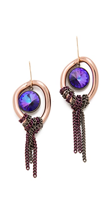 Gemma Redux Tanzanite Earrings