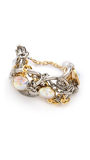 Gemma Redux Mixed Metal Bracelet