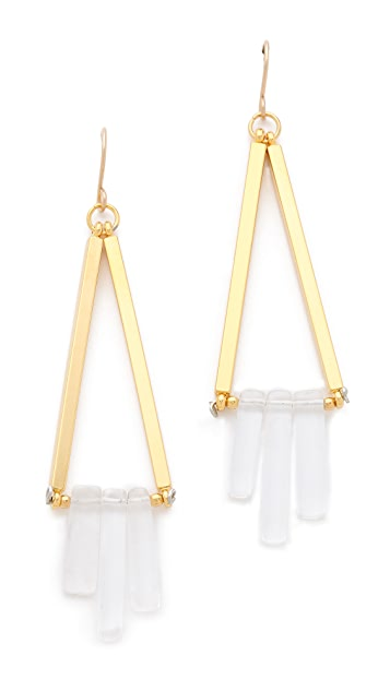 Gemma Redux Cracked Crystal Earrings