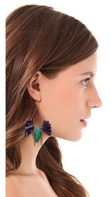 Gemma Redux Amethyst Drop Earrings