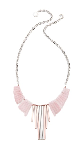Gemma Redux Long Bib Necklace