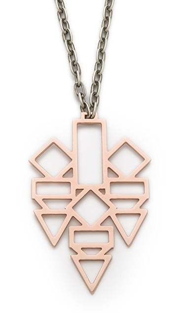 Gemma Redux Shape Pendant Necklace