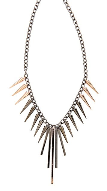 Gemma Redux Spike Necklace