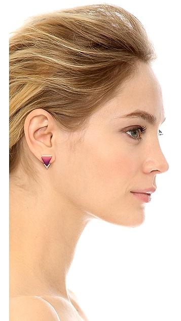 Gemma Redux Ombre Resin Stud Earrings