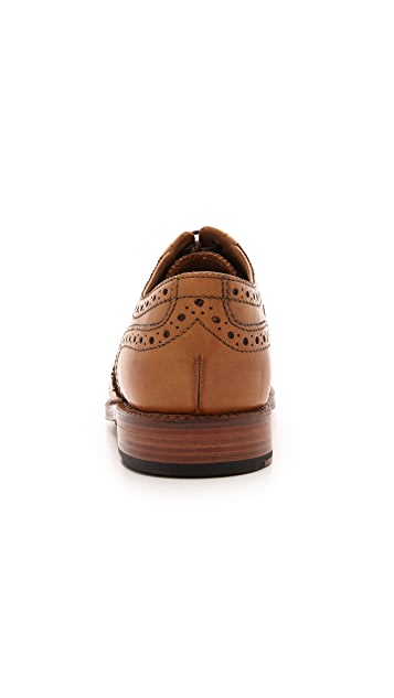 Grenson Stanley Oxfords with Cap Brogue