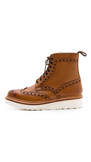 Grenson Fred Wingtip Boots