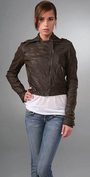 Gryphon The Mini Moto Leather Jacket