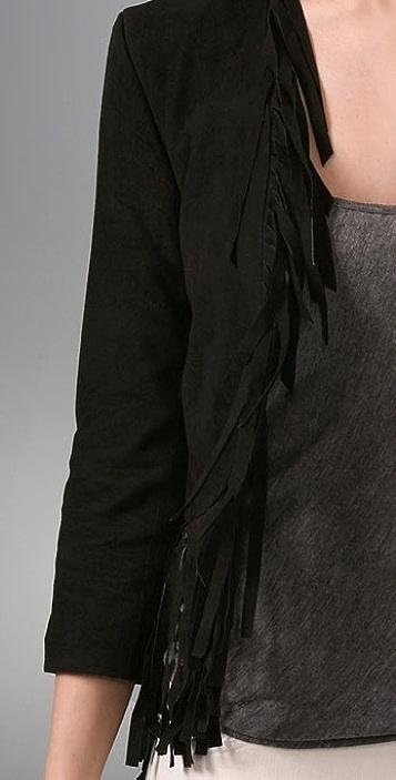 Gryphon Fringe Suede Jacket