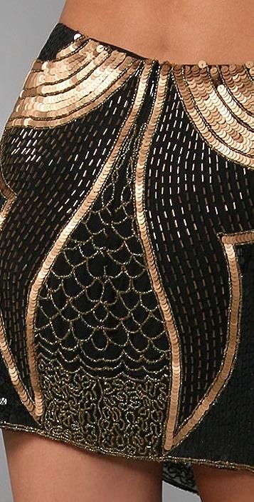 Gryphon Glam Rock Miniskirt