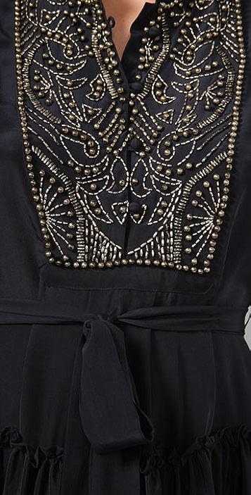 Gryphon Mercury Beaded Dress