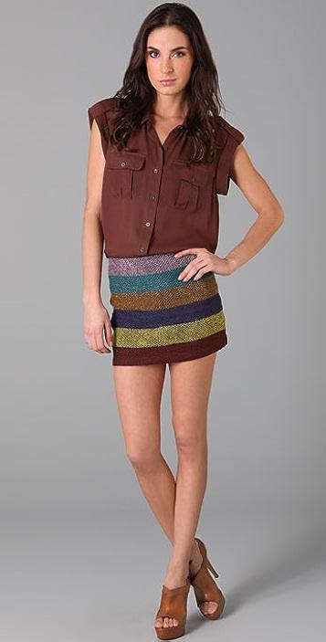 Gryphon Mayan Miniskirt