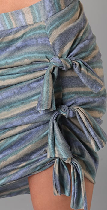 Gryphon Faded Stripe Knot Skirt