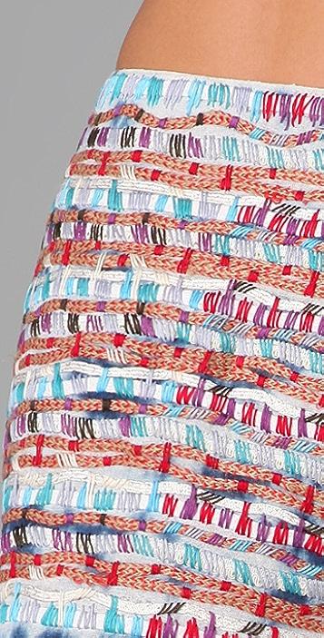Gryphon Stitch Miniskirt