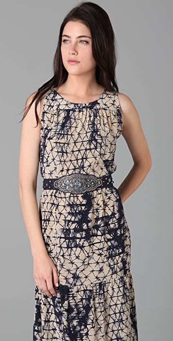 Gryphon Silk Chain Link Rep Dress