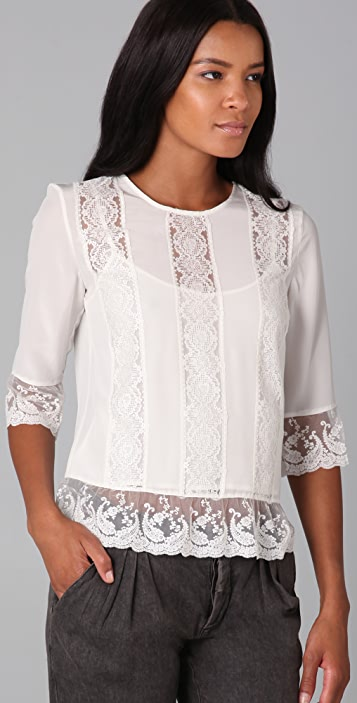 Gryphon Lace Top