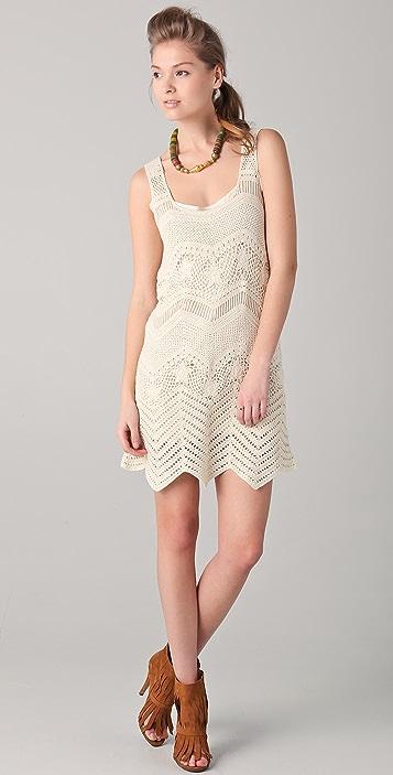 Gryphon Crochet Tank Dress