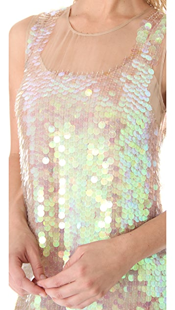 Gryphon Pailette Dress