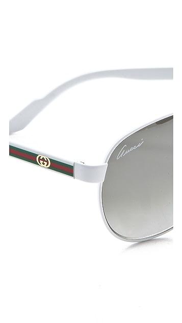Gucci Aviator Sunglasses