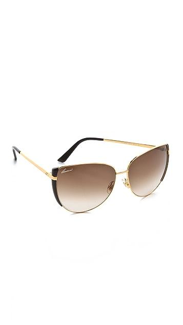 Gucci Petal Edge Sunglasses