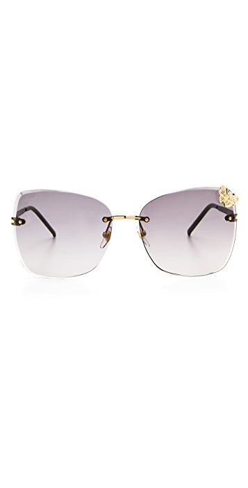 Gucci Butterfly Butterfly Sunglasses