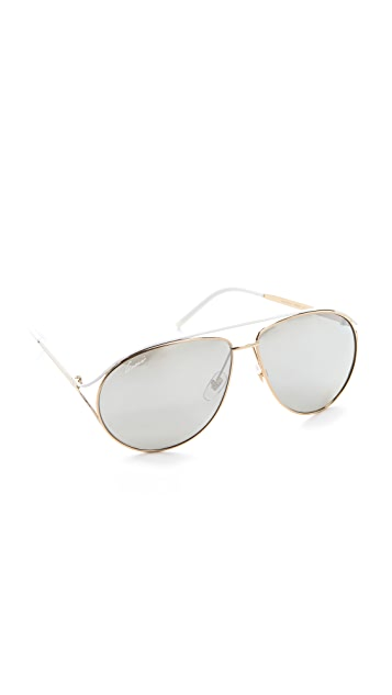 Gucci Contemporary Aviator Sunglasses