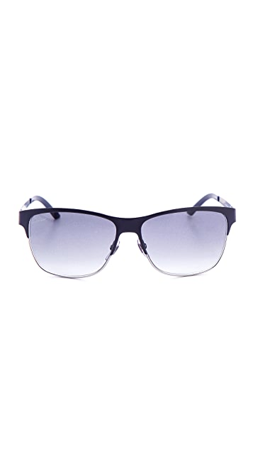 Gucci Metal Square Sunglasses