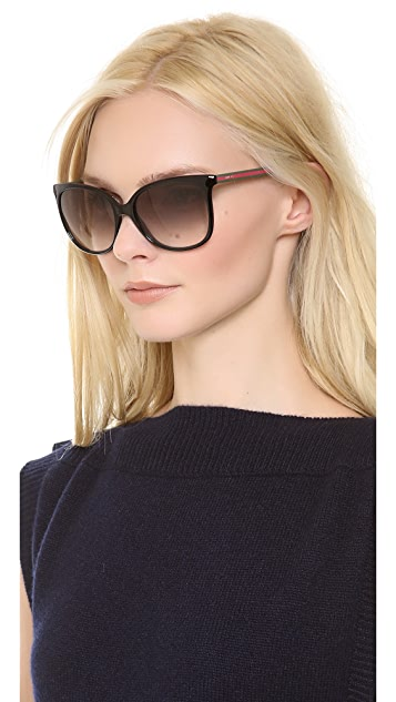 Gucci Cat Eye Sunglasses