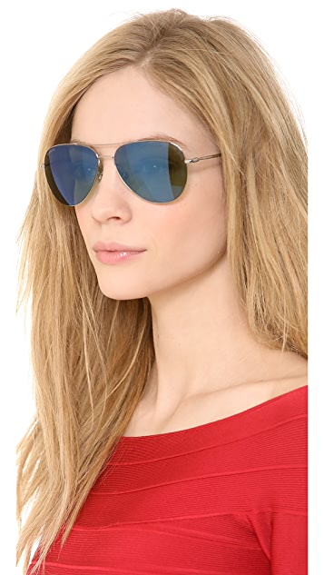 Gucci Aviator Mirror Sunglasses