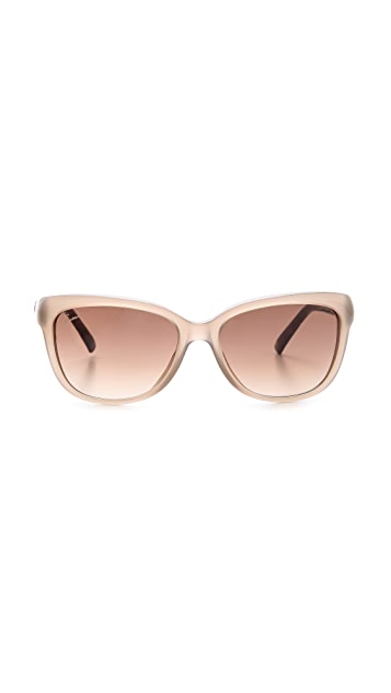 Gucci Bamboo Accent Sunglasses