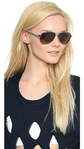Gucci Renewal Aviator Sunglasses