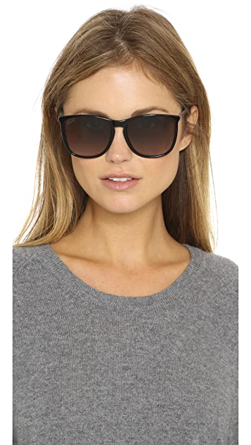 Gucci Thin Frame Sunglasses