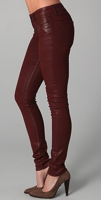 Habitual Coated Skinny Jeans