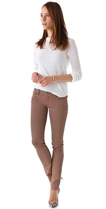 Habitual Alice Coated Skinny Jeans