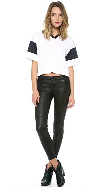 Habitual Grace Coated Skinny Pants