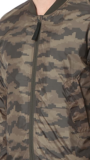 HALO Camo Bomber Jacket