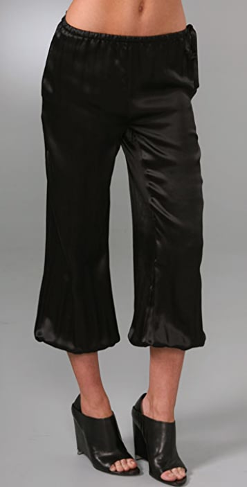 HALSTON Drawstring Pants